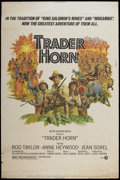"Movie Posters:Adventure, Trader Horn (MGM, 1973). Poster (40"" X 60""). Adventure...."