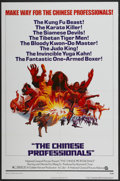 "Movie Posters:Action, The Chinese Professionals (National General, 1973). One Sheet (27"" X 41""). Action...."