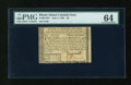 Colonial Notes:Rhode Island, Rhode Island July 2, 1780 $3 PMG Choice Uncirculated 64....