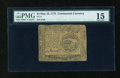 Colonial Notes:Continental Congress Issues, Continental Currency May 10, 1775 $4 PMG Choice Fine 15....