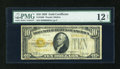 Small Size:Gold Certificates, Fr. 2400 $10 1928 Gold Certificate. PMG Net Fine 12.. ...