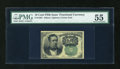 Fractional Currency:Fifth Issue, Fr. 1264 10c Fifth Issue PMG About Uncirculated 55....