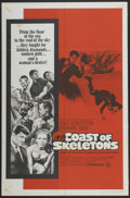 "Movie Posters:Adventure, Coast of Skeletons (Seven Arts, 1965). One Sheet (27"" X 41"").Adventure...."