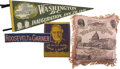 Political:Textile Display (1896-present), Franklin D. Roosevelt: Four Textile Items from Various PresidentialElections.. -1932-1941.. -Minor wear and creases, else n... (Total:4 Items)