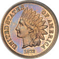 Proof Indian Cents, 1872 1C PR66 Red and Brown NGC....