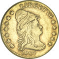 Early Quarter Eagles, 1807 $2 1/2 --Damaged, Cleaned--ANACS. XF40 Details....