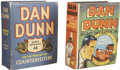 Platinum Age (1897-1937):Miscellaneous, Big Little Book Dan Dunn Group (Whitman, 1936-38).... (Total: 2Items)