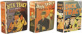Golden Age (1938-1955):Miscellaneous, Big Little Book Dick Tracy Group (Whitman, 1937-41) Condition: Average FN+.... (Total: 3 Items)
