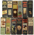 Golden Age (1938-1955):Miscellaneous, Big Little Book Western Group (Whitman, 1934-48) Condition: Average FN.... (Total: 12 Items)