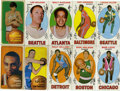 Basketball Cards:Lots, 1969/70 and 1970/71 Topps Basketball Group Lot of 46.. ... (Total:46 cards)