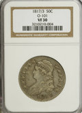 Bust Half Dollars: , 1817/3 50C VF30 NGC. O-101. NGC Census: (7/96). PCGS Population(6/101). Numismedia Wsl. Price for NGC/PCGS coin in VF30:...