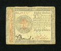 Colonial Notes:Continental Congress Issues, Continental Currency January 14, 1779 $80 Fine....