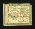 Colonial Notes:Continental Congress Issues, Continental Currency January 14, 1779 $50 Very Fine....