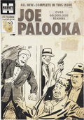 Original Comic Art:Covers, Harvey Comics Joe Palooka #98 Cover Original Art PlusProduction Art, Group of 30 (Harvey, 1951-58).... (Total: 30 Items)