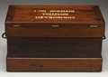 Military & Patriotic:Civil War, A Chimborazo Hospital Chest From the Famous Confederate Hospital At Richmond - Published in William Albaugh's Book This hosp...
