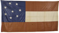Military & Patriotic:Civil War, A Rare Confederate Eight-Star First National Flag This Eight-Star Confederate First National flag still retains its vibrant ...