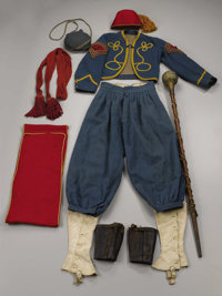 A Spectacular Civil War Zouave Complete Uniform (and Accoutrements) - The Uniform of W. Beriah Chandler, Battle of Getty...