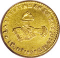 Mexico: , Mexico: Republic gold 1 Escudo 1861 Do-CP, KM379.1, lustrous AU andwell struck for the issue. A rare and often undervalued issue th...