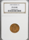 Proof Indian Cents: , 1909 1C PR65 Red NGC. NGC Census: (17/10). PCGS Population (29/16). Mintage: 2,175. Numismedia Wsl. Price for NGC/PCGS coin...