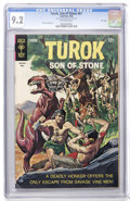 Silver Age (1956-1969):Adventure, Turok, Son of Stone #61 File Copy (Gold Key, 1968) CGC NM- 9.2 Off-white pages....