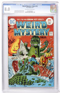 Bronze Age (1970-1979):Horror, Weird Mystery Tales #18 (DC, 1975) CGC VF 8.0 Off-white to whitepages....