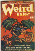 Pulps:Horror, Weird Tales - May 1940 (Popular Fiction, 1940) Condition: VG-....