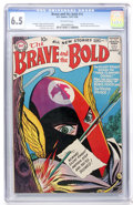Silver Age (1956-1969):Adventure, The Brave and the Bold #15 The Silent Knight (DC, 1957) CGC FN+ 6.5 Off-white pages....
