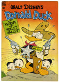 Golden Age (1938-1955):Cartoon Character, Four Color #199 Donald Duck (Dell, 1948) Condition: VG/FN....