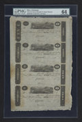 Obsoletes By State:Ohio, Cincinnati, (OH)- Unknown Issuer $5-$3-$2-$1 18__ Uncut Sheet. ...