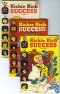 Silver Age (1956-1969):Humor, Richie Rich Success Stories File Copies Group (Harvey, 1966-82) Condition: Average VF+.... (Total: 95 Comic Books)