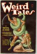 Pulps:Horror, Weird Tales - August 1934 (Popular Fiction, 1934) Condition: VG....
