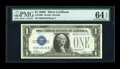 Small Size:Silver Certificates, Fr. 1603 $1 1928C Silver Certificate. PMG Choice Uncirculated 64 EPQ.. ...