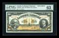 Canadian Currency: , Quebec, QC- La Banque Nationale $10 Nov. 2, 1922 Ch # 510-22-04SSpecimen. ...