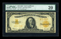 Large Size:Gold Certificates, Fr. 1173 $10 1922 Gold Certificate Star Note. PMG Very Fine 20....