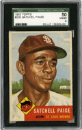 Baseball Cards:Singles (1950-1959), 1953 Topps Satchell Paige #220 SGC 50 VG/EX 4....