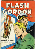 Golden Age (1938-1955):Science Fiction, Four Color #10 Flash Gordon (Dell, 1942) Condition: VG....