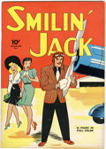 Golden Age (1938-1955):Adventure, Four Color #4 Smilin' Jack (Dell, 1942) Condition: FN....