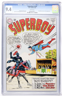 Superboy #103 (DC, 1963) CGC NM 9.4 White pages