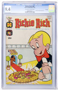 Bronze Age (1970-1979):Humor, Richie Rich #90 File Copy (Harvey, 1970) CGC NM 9.4 Off-white towhite pages....