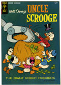 Silver Age (1956-1969):Cartoon Character, Uncle Scrooge #58 Signed by Carl Barks (Gold Key, 1965) Condition: FN+....