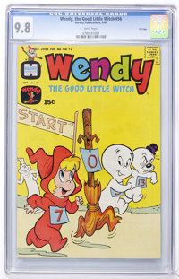 Wendy, the Good Little Witch #56 File Copy (Harvey, 1969) CGC NM/MT 9.8 White pages