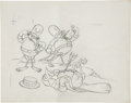 "animation art:Production Drawing, ""Who Killed Cock Robin?"" Layout Drawing Original Art (Disney,1935). ..."