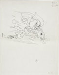 "Original Comic Art:Miscellaneous, ""The Robber Kitten"" Illustration Preliminary Drawing Original Art(Disney, circa 1935)...."