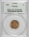 Proof Indian Cents: , 1865 1C PR64 Red PCGS. PCGS Population (14/9). NGC Census: (8/6). Mintage: 500. Numismedia Wsl. Price for NGC/PCGS coin in ...