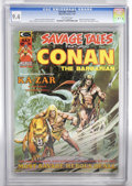 Magazines:Superhero, Savage Tales #5 (Marvel, 1974) CGC NM 9.4 Off-white pages....