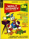 Bronze Age (1970-1979):Cartoon Character, Walt Disney Comics Digest #44 Signed by Carl Barks (Gold Key, 1971)Condition: VF/NM....