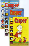 Bronze Age (1970-1979):Cartoon Character, Friendly Ghost Casper File Copy Group (Harvey, 1974) Condition: Average NM-.... (Total: 17 Comic Books)