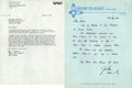 Autographs:Celebrities, James Irwin and Alan Bean Letters Signed. This lot consists of twoletters, written to the same FAA employee at the Olympia,...(Total: 2 Items)