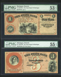 Obsoletes By State:Michigan, Detroit, MI- The State Bank of Michigan $1; $3; $5 G2a; G6a; G8a Lee 1; 3; 4. ... (Total: 3 notes)