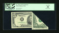 Error Notes:Foldovers, Fr. 1975-A $5 1977A Federal Reserve Note. PCGS Very Fine 30.. ...